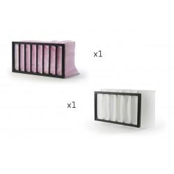 Pack FU28 filtres à poches